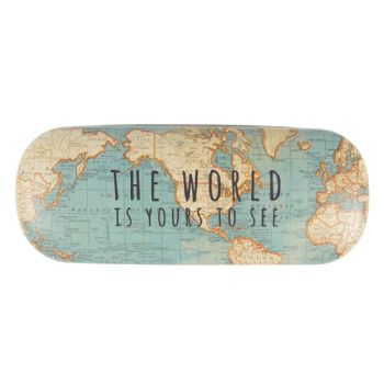 Sass & Belle - Vintage Map Glasses Case
